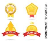 game icon bonus set | Shutterstock .eps vector #492006610