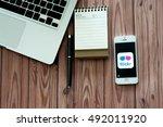 chiangmai  thailand  july 05... | Shutterstock . vector #492011920