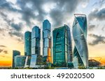 Scenic View With Skyscrapers Of ...