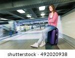 airport. | Shutterstock . vector #492020938