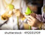 Thai Girl Making Lotus Flower...