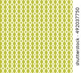 light simple pattern. seamless... | Shutterstock .eps vector #492037750