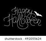 vector illustration of happy... | Shutterstock .eps vector #492055624