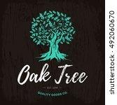 Oak Tree Handmade Shabby Logo...