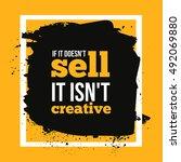 if it doesn t sell it isn t...   Shutterstock .eps vector #492069880