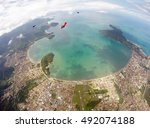 Skydiving Over Ubatuba   Brazil