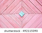 Painted Light Rose Pastel Wood...