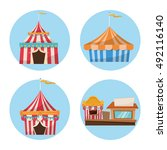 activities of carnival and... | Shutterstock .eps vector #492116140