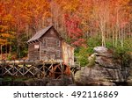 Glade Creek Grist Mill In West...