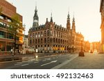 Dam Square In Morning At...