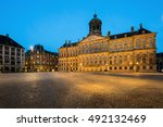 The Royal Palace In Dam Square...