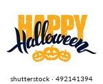 vector illustration ... | Shutterstock .eps vector #492141394