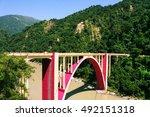 coronation bridge in spans...   Shutterstock . vector #492151318
