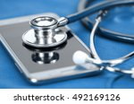 medical technology. | Shutterstock . vector #492169126