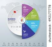 template info graphic design....   Shutterstock .eps vector #492177778
