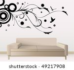 wall decoration | Shutterstock .eps vector #49217908