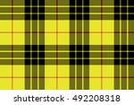 macleod tartan kilt fabric...   Shutterstock . vector #492208318