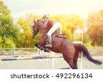Equestrian Sport Background....