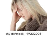 young caucasian woman  student... | Shutterstock . vector #49232005