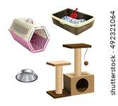 Pet Shop Accessories. Set Of...
