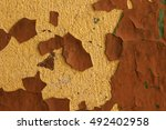 Old Lime Wall Plaster With...