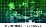 business innovation as an... | Shutterstock . vector #492440326