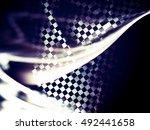 unusual abstract background ... | Shutterstock . vector #492441658