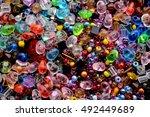 beads  | Shutterstock . vector #492449689
