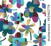 elegant and simplistic vector... | Shutterstock .eps vector #492462778