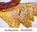 French Toast Dusted With...