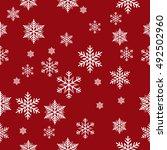 snowflake vector pattern.   Shutterstock .eps vector #492502960