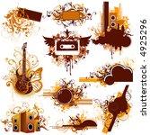 design elements | Shutterstock .eps vector #4925296