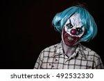Portrait Of A Scary Evil Clown...