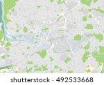 vector city map of bristol