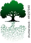 tree | Shutterstock .eps vector #49257340