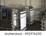 reverse osmosis equipment... | Shutterstock . vector #492576250