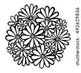 Flowers  Vector Flowers  Doodle ...
