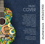 abstract retro music creatives... | Shutterstock .eps vector #492631900