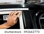car window tinting series  ... | Shutterstock . vector #492662773