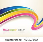 eps10 3d colorful background | Shutterstock .eps vector #49267102