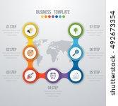 vector illustration... | Shutterstock .eps vector #492673354