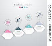 vector illustration of four... | Shutterstock .eps vector #492673420