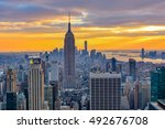 new york  united states  ... | Shutterstock . vector #492676708