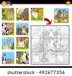 cartoon illustration of... | Shutterstock .eps vector #492677356