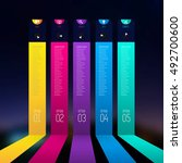 colorful banners template for... | Shutterstock .eps vector #492700600