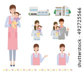 nursery | Shutterstock .eps vector #492725566