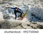 emerald isle  north carolina  ... | Shutterstock . vector #492733060