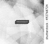abstract elegant vector... | Shutterstock .eps vector #492768724