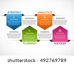 abstract options infographics... | Shutterstock .eps vector #492769789