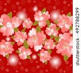 invitation or wedding card...   Shutterstock .eps vector #492788299